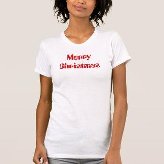 God juldamavslappnaden kammar hem med kranen på t-shirts