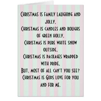 God juldiktkort hälsningskort