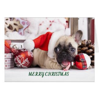 God julfransktjur hälsningskort