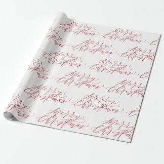 God julgåvasjal - märkte Hand, rött Presentpapper