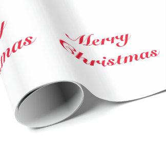God julhelgdag som slår in papper presentpapper