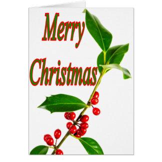 God juljärnek hälsningskort