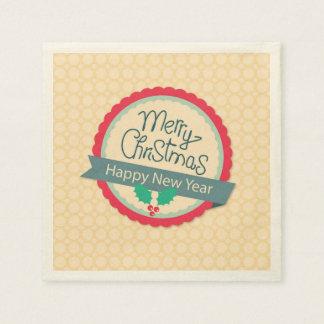 God juljärnekmärkre servett