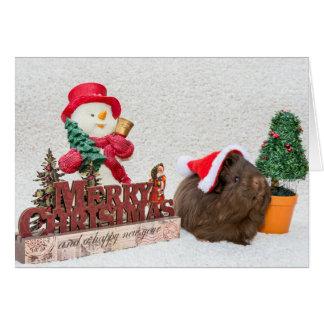 God julkompis hälsningskort