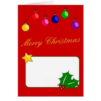 God julkort hälsningskort