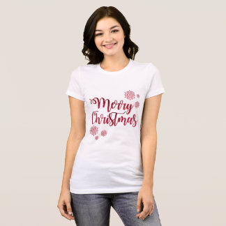 God julkvinna T-tröja för Bella kanfas T-shirts