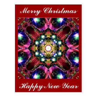 God julljus vykort