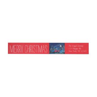 God julsjal runt om etikett