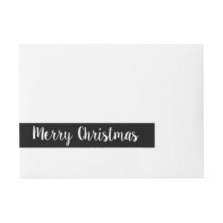 God julsjal runt om jul för etiketter |