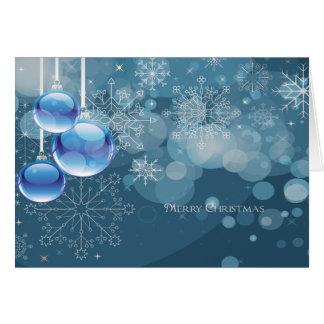 God julsnöflingorkort hälsningskort
