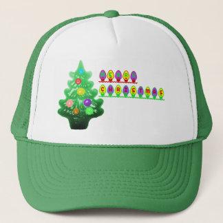 God julträd truckerkeps