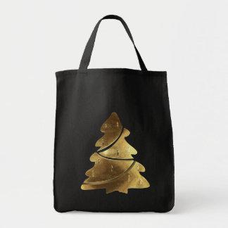 God julträdsvart och guld- Lookelegant Tygkasse