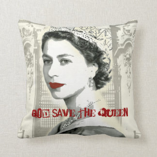God Save The Queen Kudde