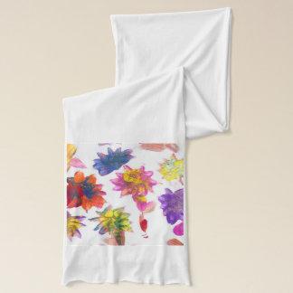 Godisen bevattnar scarfen för sjal