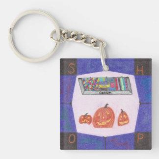 Godisen shoppar stoppakrylen Keychain