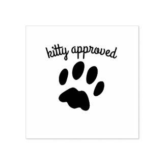 Godkänt Rubber frimärke för svart kattunge för Stämpel