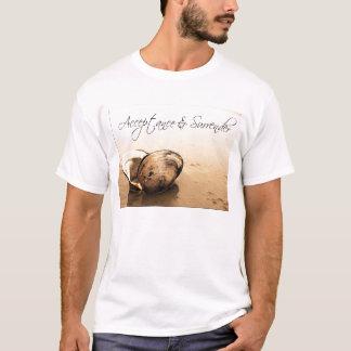 Godtagande & kapitulation tee shirt