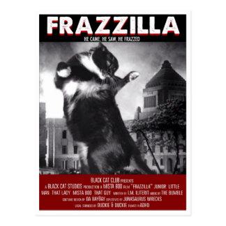 Godzilla kattvykort vykort