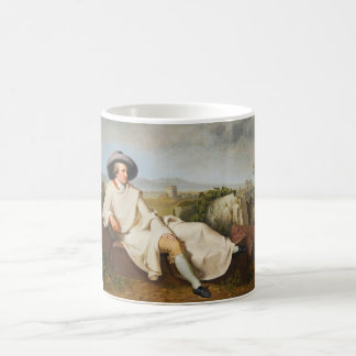 Goethe i den romerska Campagnaen vid Tischbein Kaffemugg