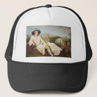 Goethe i den romerska Campagnaen vid Tischbein Truckerkeps