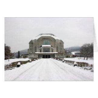 Goetheanum Dornach, Basel, Schweitz Hälsningskort