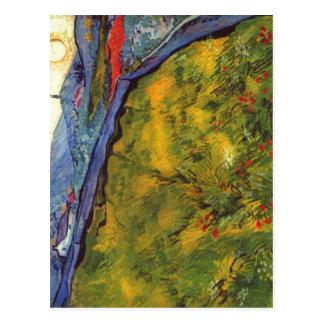 Gogh Vincent Willem skåpbil Berglandschaft bei Vykort