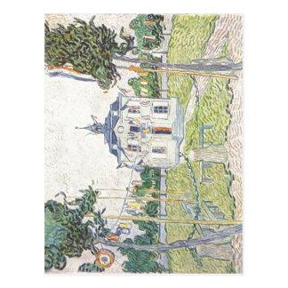 Gogh Vincent Willem skåpbil Das Gemeindehaus i Vykort