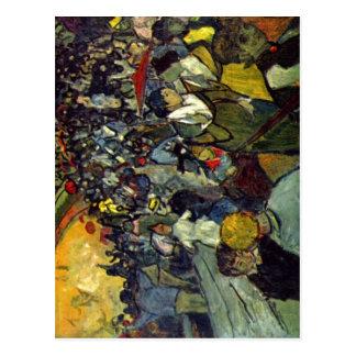 Gogh Vincent Willem skåpbil Dö Arenen von Arles Vykort
