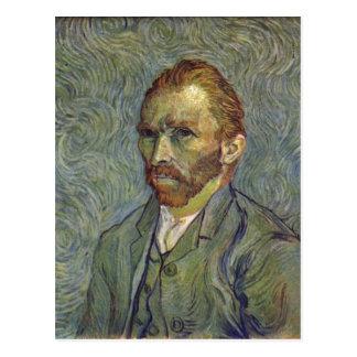 Gogh Vincent Willem skåpbil Selbstportr? t Techni Vykort