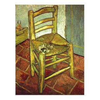 Gogh Vincent Willem skåpbil Vincents Stuhl mit Vykort