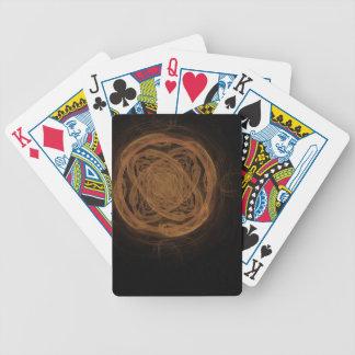 GoldenKnot abstrakt konstFractal Spelkort
