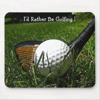 Golf 101 Mousepad Musmatta