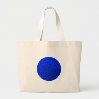 Golf Ball Blue The MUSEUM Zazzle Gifts Tote Bag