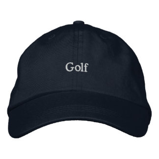 Golf Broderad Baseball Keps