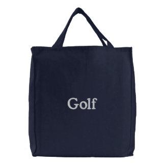 Golf Broderade Kassar