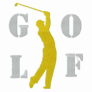 Golf broderad långärmadT-tröja