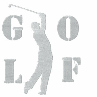 Golf broderad Poloskjorta Broderad Tröja