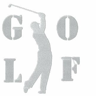 Golf broderad Poloskjorta Pikétröjor
