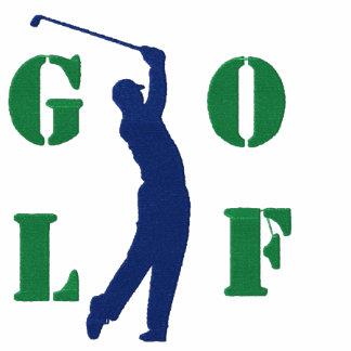 Golf broderad T-tröja