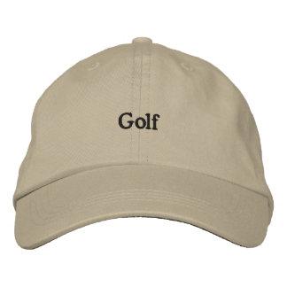 Golf Broderade Kepsar