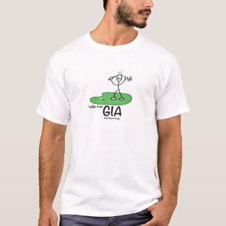 Golf framkallad ilska t-shirt
