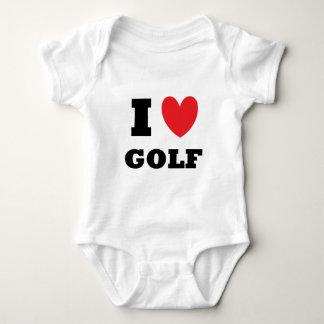 Golf.  Jag älskar Golf. Tee Shirts