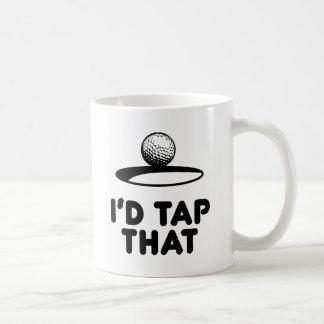 Golf - jag skulle klapp det kaffemugg