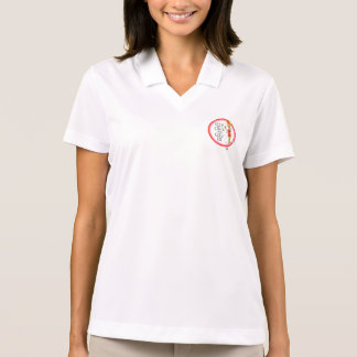 Golf på kvinna skjortan för Nike Polo Tenniströja