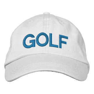 GOLF - personifierad justerbar hatt