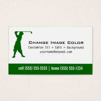 Golf - personlig visitkort