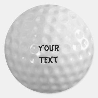 Golf Runt Klistermärke