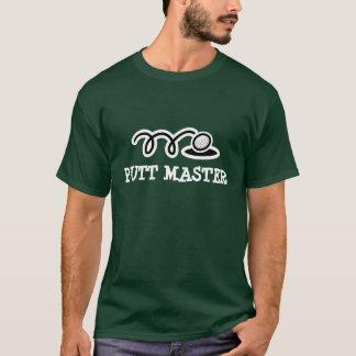 Golf t-skjortan med den ledar- roliga putten för tshirts