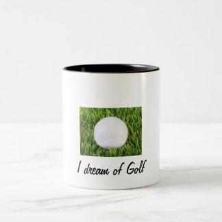 Golf Två-Tonad Mugg