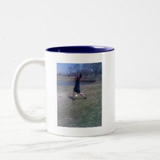 Golf! Två-Tonad Mugg